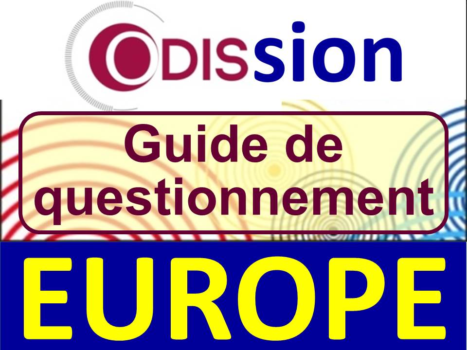 Audition Odission Odis Odissée Chantaraud Henri Malosse Europe Vrai dialogue